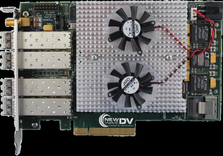 Featured-CaptureXG-Quad-Port-Ethernet PCI Express FPGA Card