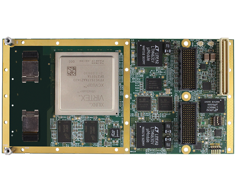 V1153 12-Port Rugged XMC FPGA Card | New Wave DV