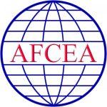 A white AFCEA International logo