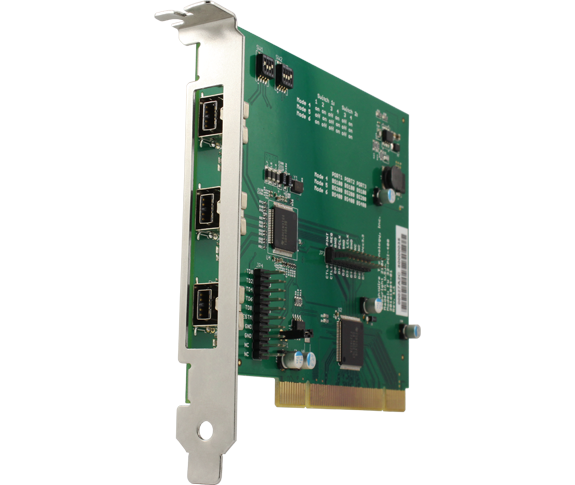 3-Port 1394b PCI OHCI Host Adapter-feat