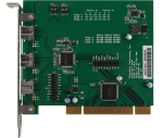 3-Port 1394b PCI OHCI Host Adapter-front