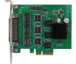 9-Port Mil1394 PCIe OHCI Adapter
